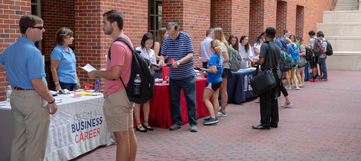 Ole Miss School of Business Event