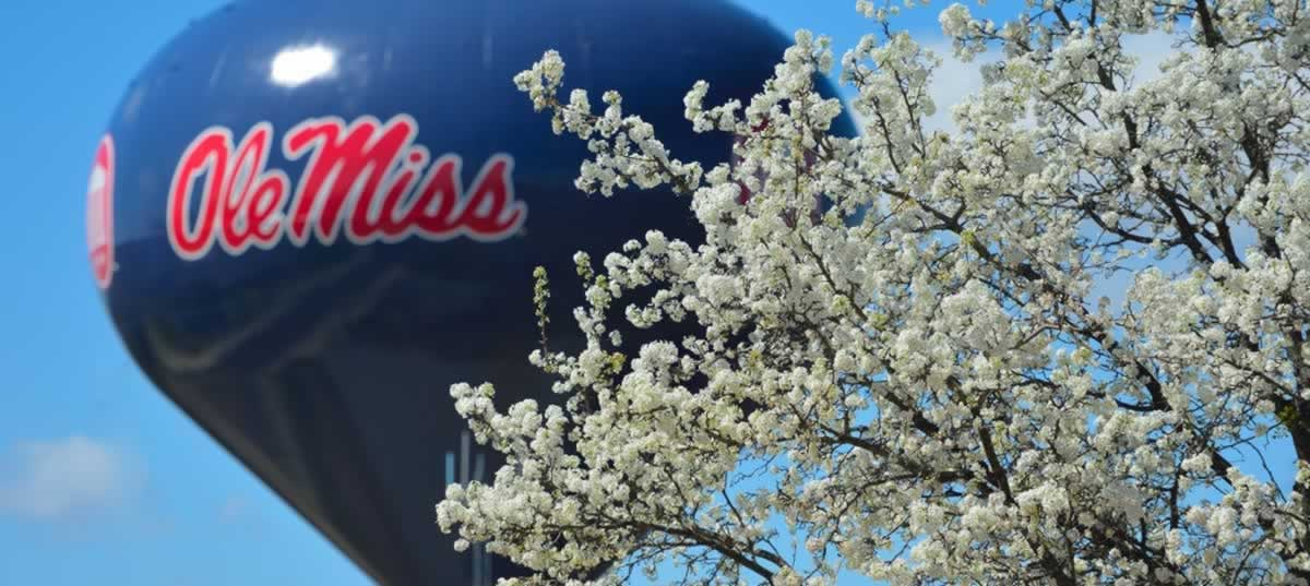 Ole Miss School of Business Water Tower